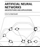 ARTIFICIAL NEURAL NETWORKS – ARCHITECTURES AND APPLICATIONS