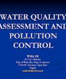 The Assessment of Water Quality and Pollution in Tanzania
