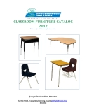 CLASSROOM FURNITURE CATALOG 2012: Jacqueline Saunders, Director