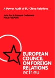 A Power Audit of EU-China Relations John Fox & François Godement POLICY REPORT