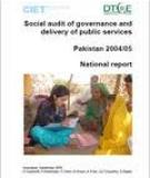 SOCIAL AUDIT OF GOVERNANCE AND DELIVERY OF PUBLIC SERVICES