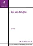 Skills audit of refugees