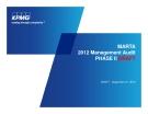 MARTA 2012 Management Audit PHASE II DRAFT