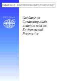 Guidance on  Conducting Audit  Activities with an  Environmental  Perspective