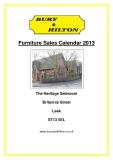Furniture Sales Calendar 2013: The Heritage Saleroom Britannia Street Leek ST13 5EL