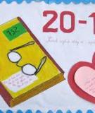 100 Bài báo tường mừng ngày  NGVN 20_11