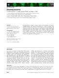 Báo cáo khoa học: Docking proteins