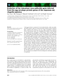 Báo cáo khoa học: Evolution of the teleostean zona pellucida gene inferred from the egg envelope protein genes of the Japanese eel, Anguilla japonica