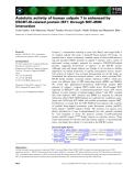 Báo cáo khoa học: Autolytic activity of human calpain 7 is enhanced by ESCRT-III-related protein IST1 through MIT–MIM interaction