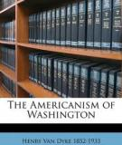 Americanism of Washington