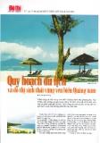 Báo cáo khoa học :Quy hoạch du lịch và đô thị sinh thái vùng ven biển Quảng Nam