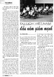 Báo cáo khoa học :Du lịch Việt Nam đầu năm giảm mạnh