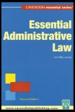 ESSENTIAL ADMINISTRATIVE LAW Second Edition