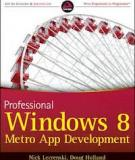 Professional Windows 8 Programming: Application Development with C# and XAML