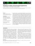 Báo cáo khoa học:  Cholesterol oxidase: biotechnological applications Loredano Pollegioni, Luciano Piubelli and Gianluca Molla