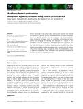 Báo cáo khoa học: Antibody-based proteomics Analysis of signaling networks using reverse protein arrays