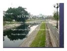 Tểu luận: Thực trạng ô nhiễm nước sông Tô Lịch và Kim Ngưuphương án xử lý