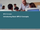 MPLS ConceptsIntroducing Basic MPLS Concepts