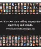 Social network marketing, engagement  marketing and brands.