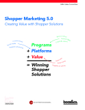 Shopper Marketing 5.0 Creating Value with Shopper Solutions