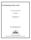 Food Marketing Policy Center - WIC Contract Spillover Effects