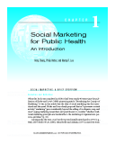 SOCIAL MARKETING FOR PULIC HEALTH AN INTRODUCTION