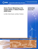 Green Power Marketing in the  United States: A Status Report  (2008 Data)