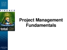 Project Management  Fundamentals - A guide to the project management body of knowledge
