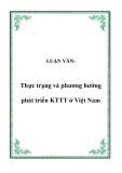 LUẬN VĂN:  Thực trạng và phương hướng phát triển KTTT ở Việt Nam