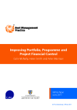 Improving Portfolio, Programme and  Project Financial Control