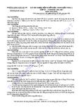 Đề thi học sinh giỏi hóa 10 2011-2012 THPT Ngô Gia Tự