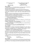 Đề thi học sinh giỏi tỉnh môn hóa học 2007-2008