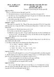 Đề thi chọn học sinh giỏi cấp cụm môn hóa học lớp 10