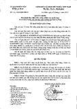 Quyết định ban hành quy định chức năng, nhiệm vụ, quyền hạn và cơ cấu tổ chức của sở giáo dục và đào tạo tỉnh Cà Mau ( số 4/2012/QĐ-UBND)