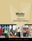 KELLER GRADUATE SCHOOL OF MANAGEMENT OF DEVRY UNIVERSITY 2012 - 2013