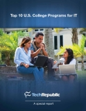 Top 10 U.S. College Programs for IT