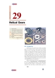 Chapter 29 Helical Gears