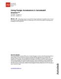 Using Design Accelerators in Autodesk® Inventor