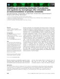 Báo cáo khoa học: Modelling and simulating interleukin-10 production and regulation by macrophages after stimulation with an immunomodulator of parasitic nematodes