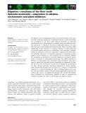 Báo cáo khoa học: Digestive a-amylases of the flour moth Ephestia kuehniella – adaptation to alkaline environment and plant inhibitors