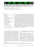 Báo cáo khoa học: Complete high-density lipoproteins in nanoparticle corona