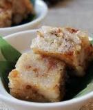 Bánh củ cải - món ăn ngon hậu Tết
