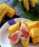 Bánh lá dừa nhân chuối xiêm