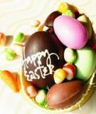 Rổ trứng ngọt ngào - quà tặng cho ngày lễ Phục Sinh