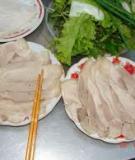 Thịt luộc Khuê Trung