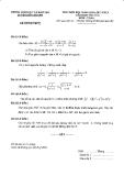 Đề thi HSG THCS lớp 9 môn toán