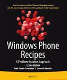 Windows Phone Recipes