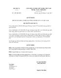 Quyết định số 1303/QĐ-BNV