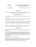 Quyết định số 1287/QĐ-BNV