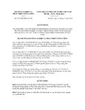 Quyết định số 3187/QĐ-BNN-TCCB